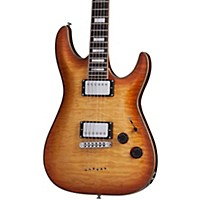 Schecter Guitar Research C-1 Custom Electric Guitar Natural Vintage Burst