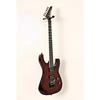 Used Jackson Pro Series Sl2q Soloist Electric Guitar Transparent Root Beer 888365916491
