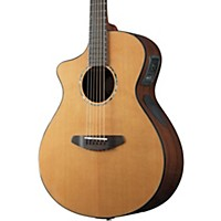 Breedlove Solo Concert Left-Handed Acoustic-Electric Guitar Natural