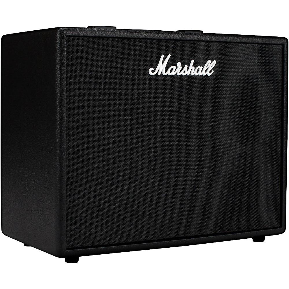 marshall code 50w 1x12 guitar combo amp black 5030463387405 ebay. Black Bedroom Furniture Sets. Home Design Ideas