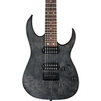 Ibanez Rg Series Rg7421pb 7-String Electric Guitar Transparent Gray