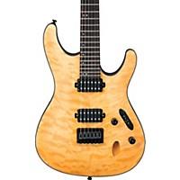 Ibanez S Series S621qm Electric Guitar Vintage Natural