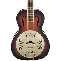 Gretsch Guitars G9241 Alligator Biscuit Round Neck Acoustic-Electric Resonator Guitar 2-Color Sunburst