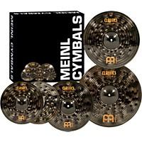 Meinl Classics Custom Dark Pack Bonus Box Set With Free 18 Dark Crash