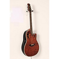 Used Ovation C2078axp Elite Plus Contour Acoustic-Electric Guitar Sunburst 190839014931