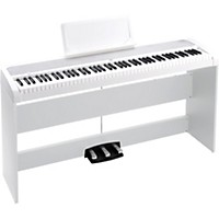 Korg B1sp 88 Keys Digital Piano With Stand And 3-Pedal Unit White