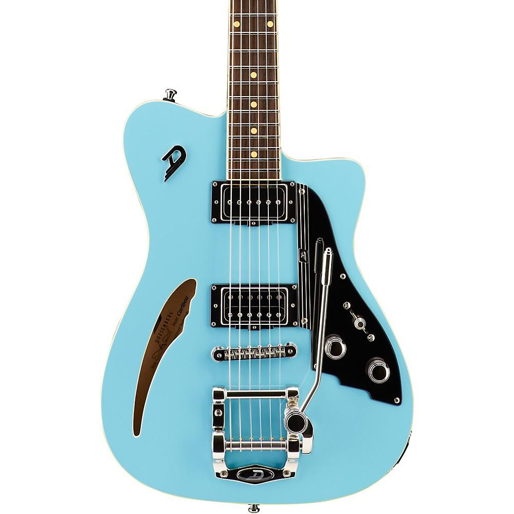 Duesenberg Usa Caribou Semi-Hollow Electric Guitar Narvik Blue