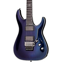 Schecter Guitar Research Hellraiser Hybrid C-1 With Floyd Rose Solid Body Electric Guitar Ultraviolet