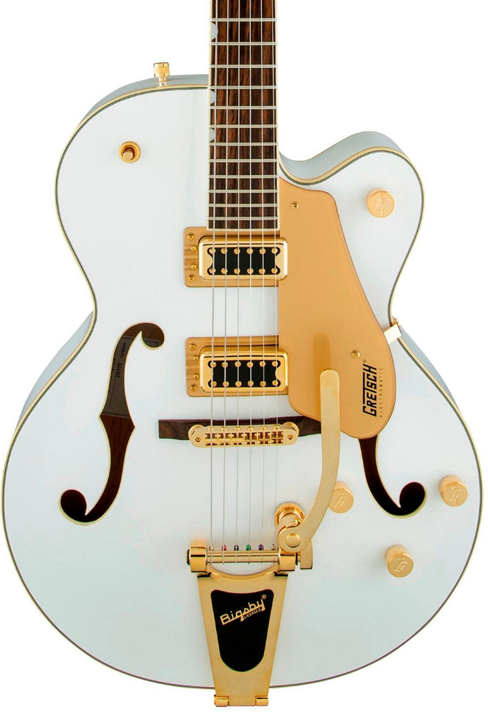 gretsch guitars g5420t electromatic hollow body electric guitar snow crest white ebay. Black Bedroom Furniture Sets. Home Design Ideas