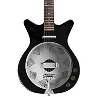 Danelectro '59 Acoustic-Electric Resonator Guitar Black