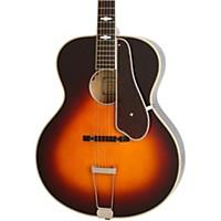 Epiphone Masterbilt Century Collection De Luxe Archtop Acoustic-Electric Guitar Vintage Sunburst