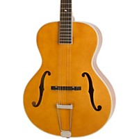 Epiphone Masterbilt Century Collection Zenith Classic F-Hole Archtop Acoustic-Electric Guitar Vintage Natural