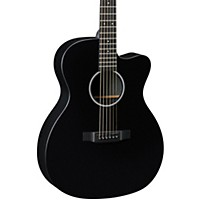 Martin X Series Omcxae Black Orchestra Model Acoustic-Electric Guitar Black