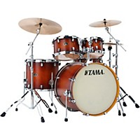 Tama Silverstar 5-Piece Shell Pack Antique Brown Burst