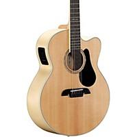 Alvarez Aj80ce-12 12-String Jumbo Acoustic-Electric Guitar Natural