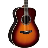 Yamaha Ls Transacoustic Jumbo Concert Acoustic-Electric Guitar Brown Sunburst