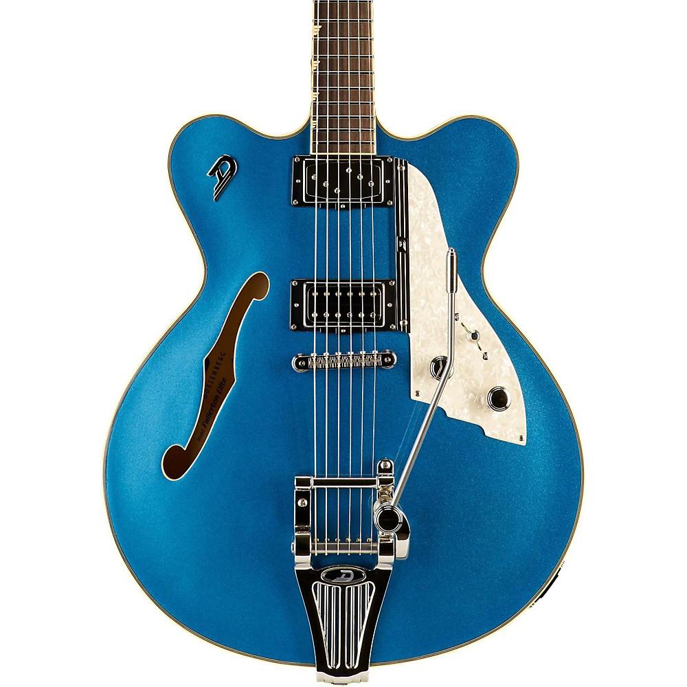 Duesenberg Usa Fullerton Elite Semi-Hollow Electric Guitar Catalina Blue