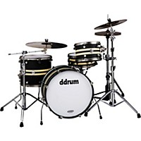 Ddrum Reflex Rally Sport 4-Piece Black