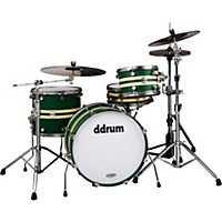 Ddrum Reflex Rally Sport 4-Piece Green