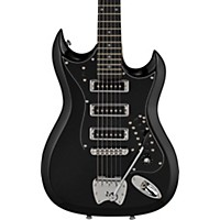 Hagstrom Retroscape Series H-Iii Electric Guitar Gloss Black