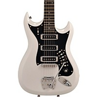 Hagstrom Retroscape Series H-Iii Electric Guitar Gloss White