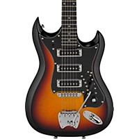Hagstrom Retroscape Series H-Iii Electric Guitar 3-Tone Sunburst