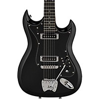 Hagstrom Retroscape Series H-Ii Electric Guitar Gloss Black