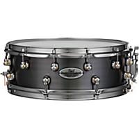 Pearl Dennis Chambers Milled Aluminum Snare Drum 14 X 5 In. Black Nickel