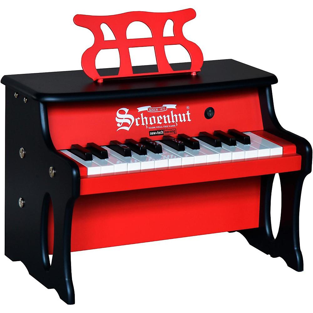Schoenhut 25 Key 2 Toned Table Top Red/Black