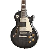 Epiphone Les Paul Es Pro Hollowbody Electric Guitar Translucent Black