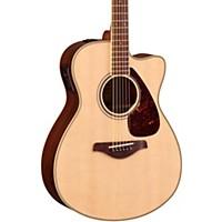 Yamaha Fsx830c Acoustic-Electric Guitar Natural