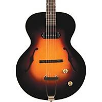 The Loar Lh-301T Thin Body Archtop Electric Guitar Vintage Sunburst