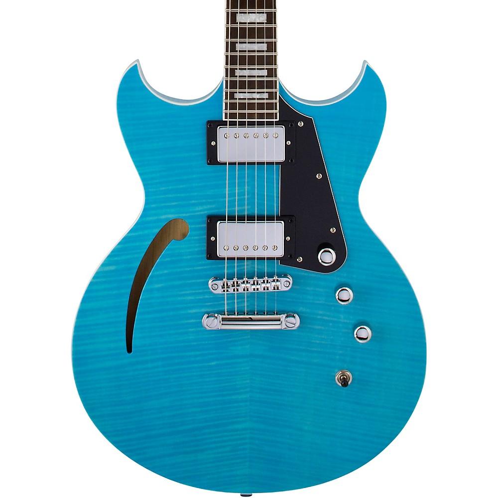 Reverend Manta Ray Hb Semi-Hollowbody Electric Guitar Sky Blue