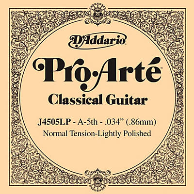 D'Addario J45 A-5 Pro-Arte Composites Normal LP Single Classical Guitar String