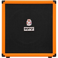 Orange Amplifiers Crush Bass 100 100W 1X15 Bass Combo Amplifier Orange