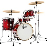 Gretsch Drums Catalina Club 3-Piece Shell Pack Gloss Crimson Burst