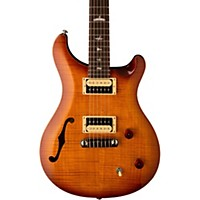 Prs 2017 Se Custom 22 Semi-Hollow Electric Guitar Vintage Sunburst