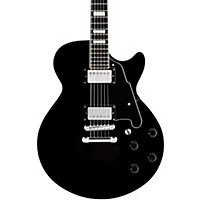 D'angelico Premier Series Ss With Stop Tail Piece Non-F Hole Hollowbody Electric Guitar Black