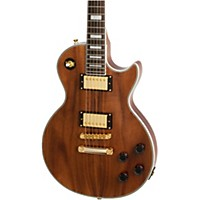 Epiphone Limited Edition Les Paul Custom Pro Koa Electric Guitar Natural