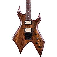 B.C. Rich Warlock Neck Through With Floyd Rose Electric Guitar Gloss Natural