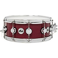 Dw Collector's Series Purple Heart Lacquer Custom Snare Drum W/Chrome Hardware 14 X 5.5 In.