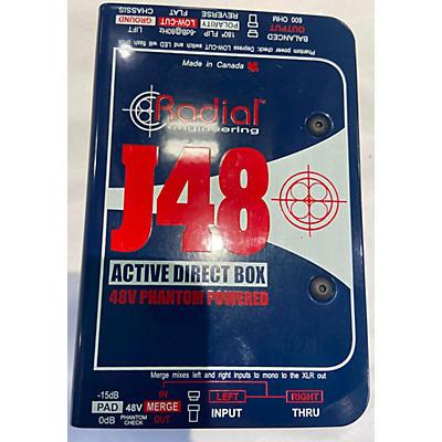 Radial Engineering J48 MKII Direct Box