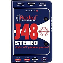 Open Box Radial Engineering J48 Stereo Active Direct Box