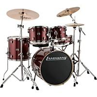 Ludwig Element Evolution 5-Piece Drum Set Wine Red Sparkle