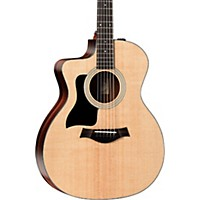 Taylor 100 Series 114Ce Rosewood Grand Auditorium Left-Handed Acoustic-Electric Guitar Natural