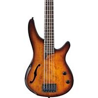 Ibanez Srh505 5-String Electric Bass Guitar Flat Dragon Eye Burst