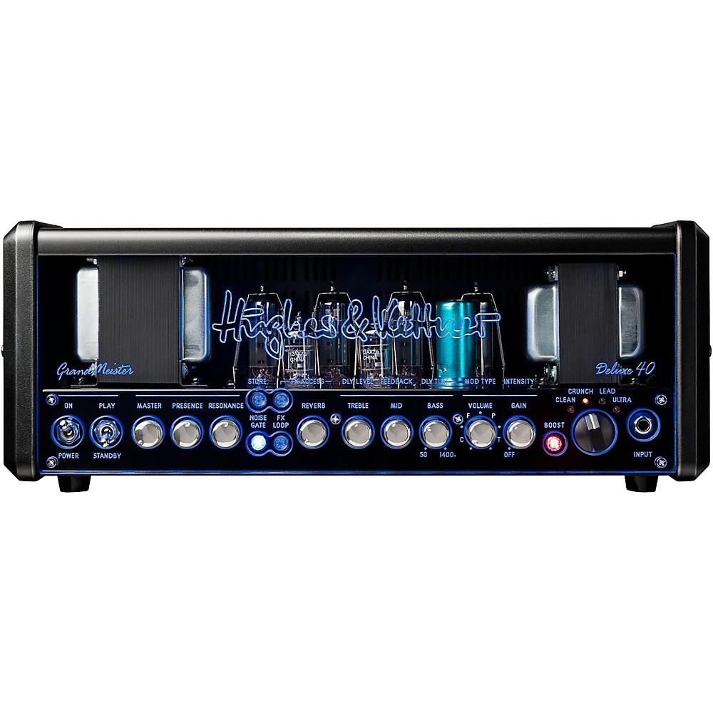 Hughes & Kettner Gm40dh Grandmeister Deluxe 40 40W Guitar Amplifier Head (J49370) photo