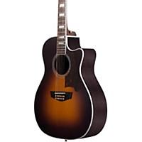 D'angelico Excel Fulton 12 String Acoustic Electric Guitar Sunburst