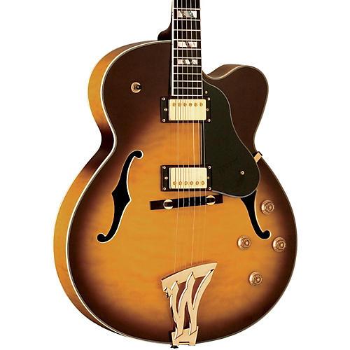 Washburn J5 Jazz Venetian Cutaway Electric Guitar