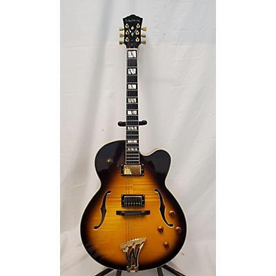 Washburn J5 Jazz Venetian Hollow Body Electric Guitar